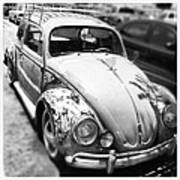 1961 Volkswagon Beetle Art Print