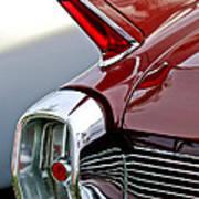 1962 Cadillac Eldorado Taillight Art Print