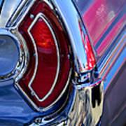 1962 Pontiac Catalina Convertible Taillight Art Print