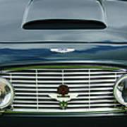 1963 Aston Martin Db4 Series V Vantage Gt Grille Print by Jill Reger