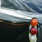 1963 Aston Martin Db4 Series V Vantage Gt Tail Light Print by Jill Reger