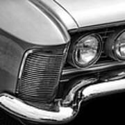 1963 Buick Riviera B/w Art Print