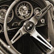 1963 Chevrolet Corvette Art Print