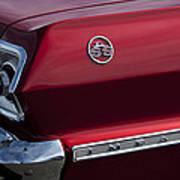1963 Chevrolet Impala Ss Taillight Art Print