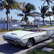1963 Ford Thunderbird Art Print by Fpg