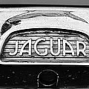 1963 Jaguar Back Up Light Art Print