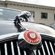 1963 Jaguar Emblem Art Print