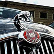 1963 Jaguar Mkii Fantasy Car Art Print