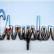 1964 Chrysler Emblem  Art Print