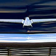 1964 Ford Thunderbird Emblem Art Print