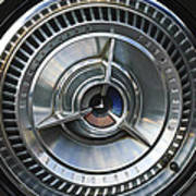1964 Ford Thunderbird Wheel Rim Art Print