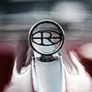 1965 Buick Riveria Hood Emblem Art Print