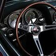 1965 Corvette Roadster Dash Art Print