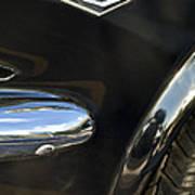 1965 Ford Mustang Emblem 3 Art Print