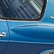 1966 Chevy Caprice Chevrolet Back Clip Art Print