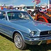 1966 Mustang Art Print