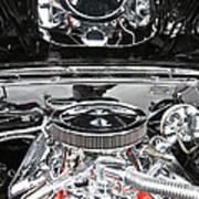 1967 Chevrolet Chevelle Ss Engine 2 Art Print