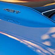 1967 Chevrolet Corvette 427 Hood Emblem Art Print