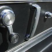 1967 Chevrolet Corvette Door Controls Art Print
