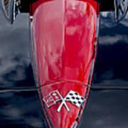 1967 Chevrolet Corvette Hood Emblem 5 Art Print