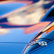 1967 Chevrolet Corvette Hood Emblem Art Print