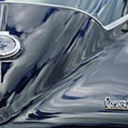 1967 Chevrolet Corvette Rear Emblem 2 Art Print