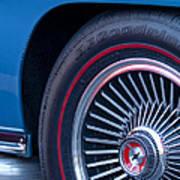 1967 Chevrolet Corvette Wheel 2 Art Print
