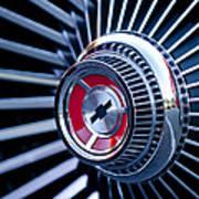 1967 Chevrolet Corvette Wheel Art Print