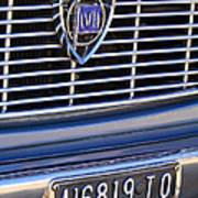 1967 Lancia Fulvia Berlina Grille Emblem Art Print