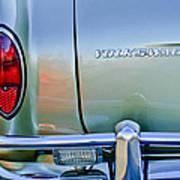 1967 Volkswagen Vw Karmann Ghia Taillight Emblem Art Print