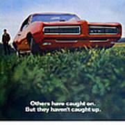 1968 Pontiac Gto Art Print