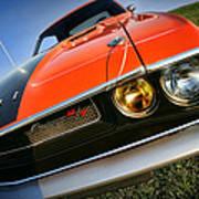 1970 Dodge Challenger Rt Hemi Orange Art Print