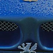 1970 Iso Rivolta Grifo Emblem 2 Art Print