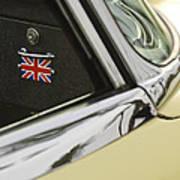 1970 Jaguar Xk Type-e Emblem Art Print