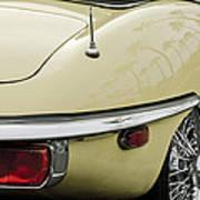 1970 Jaguar Xk Type-e Taillight 2 Art Print