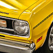 1970 Plymouth Duster 340 Art Print