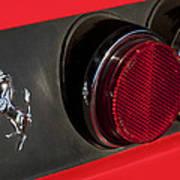 1972 Ferrari 365 Gtc-4 Emblem Art Print