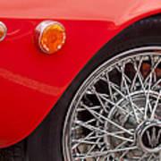 1972 Maserati Ghibli 4.9 Ss Spyder Wheel Art Print
