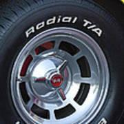 1980 Chevrolet Corvette Wheel Art Print