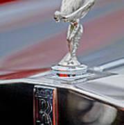 1984 Rolls-royce Silver Spur Hood Ornament Art Print