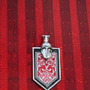 1988 Monte Carlo Ss Crest And Shield Emblem Art Print