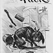 19th Century Political Cartoon Art Print