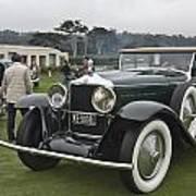 1929 Minerva Type Am Murphy Convertible Sedan Art Print