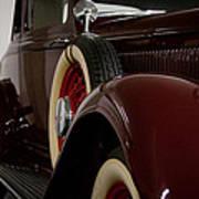 1933 Dodge Dp Rs 2 Door Coupe Art Print