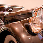1933 Pierce-arrow 12 Model 12412 Labaron Convertible Coupe Art Print