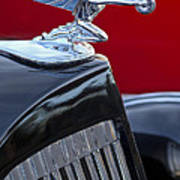 1935 Packard Hood Ornament Art Print