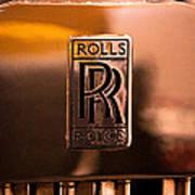 1937 Rolls-royce P-iii Saloon Hooper Art Print
