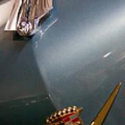 1955 Cadillac Eldorado 2 Door Convertible Art Print by David Patterson
