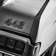 1972 Oldsmobile Cutlass 442 Art Print