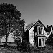 Abandoned House Art Print by Cale Best
